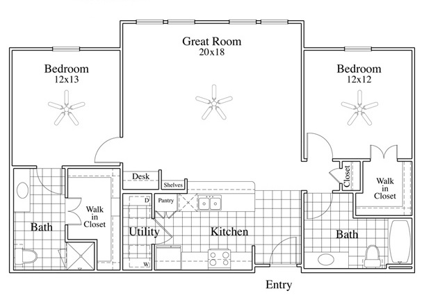 McDermott Crossing - Floorplan - Florence