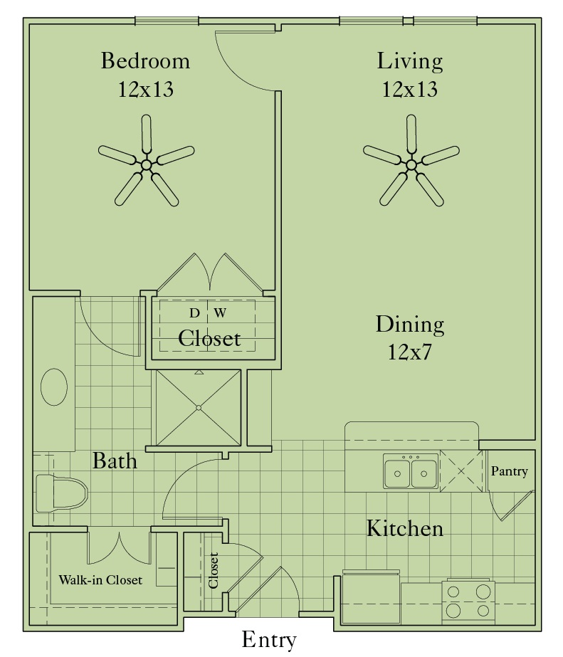 McDermott 55 - Floorplan - A1C