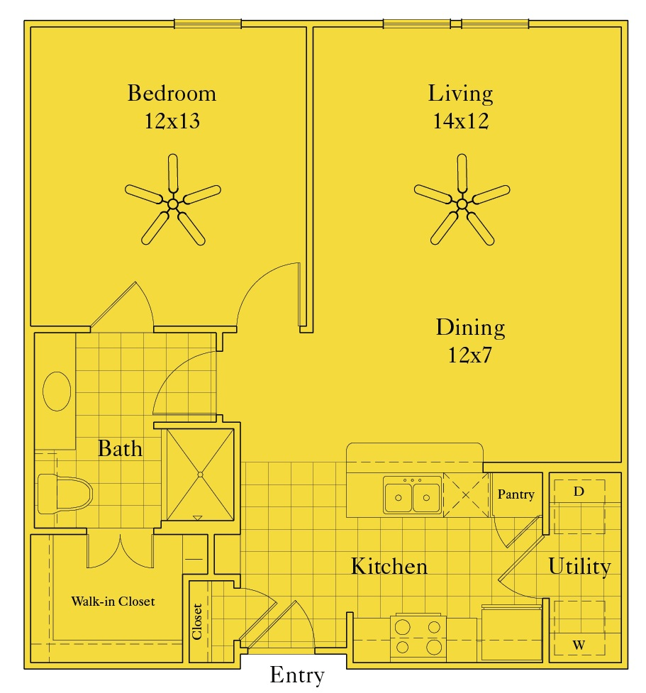 McDermott 55 - Floorplan - A2C