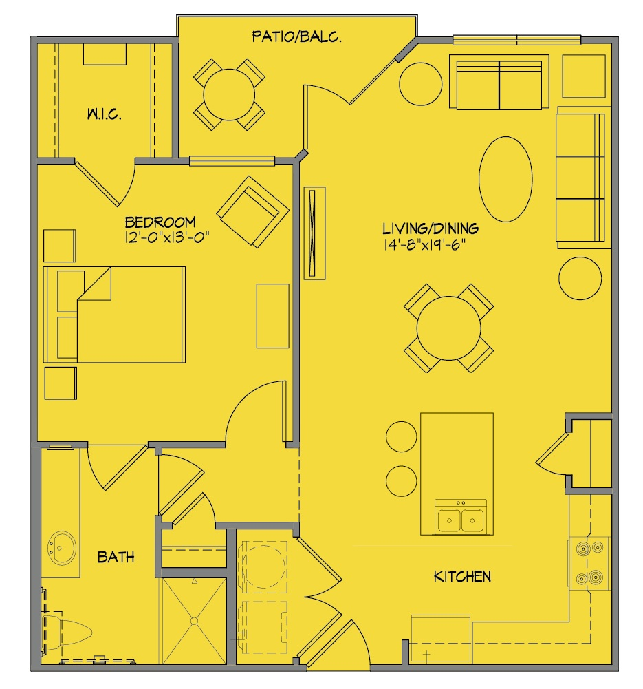 McDermott 55 - Floorplan - A2P