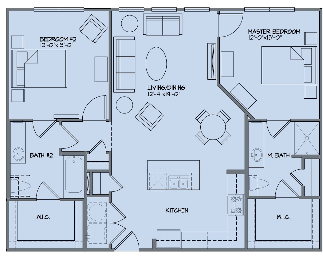 McDermott 55 - Floorplan - B1P