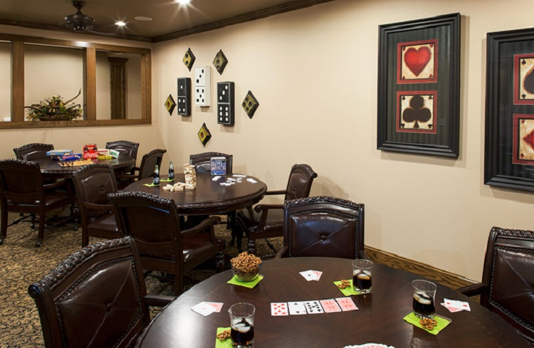 Game Room at McDermott Crossing Luxury Apartments in Plano, Texas