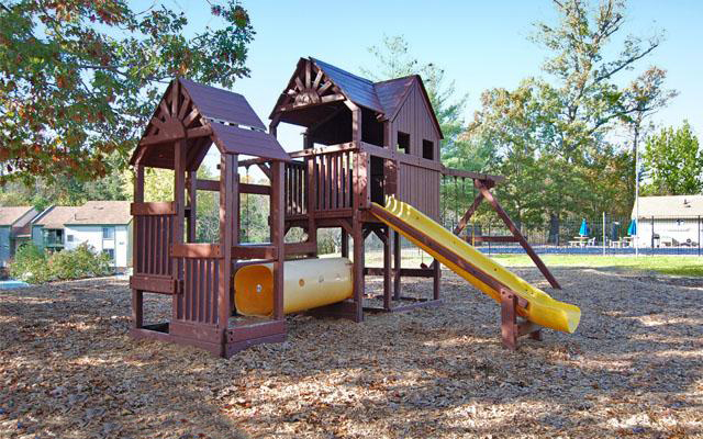 Playground at the Merrimac Crossing Apartment Homes in Williamsburg, VA