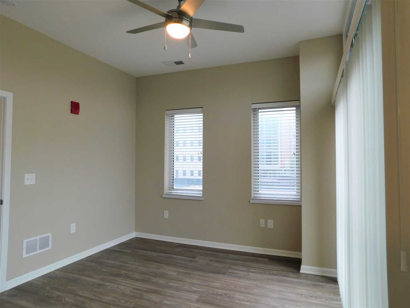 Ceiling Fans at Midtown Plaza Apartments in Kansas City, MO
