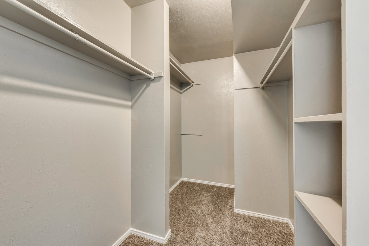 Ample Storage Space at Mill House Apartments in Dallas, TX