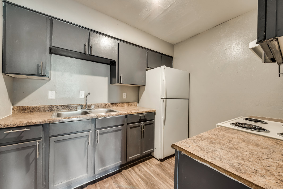 Updated Cabinetry at Mill House Apartments in Dallas, TX