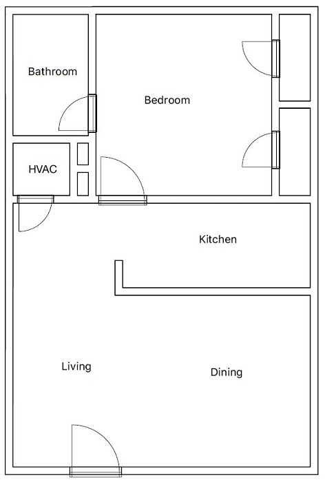 Mirabella Apartments - Floorplan - A