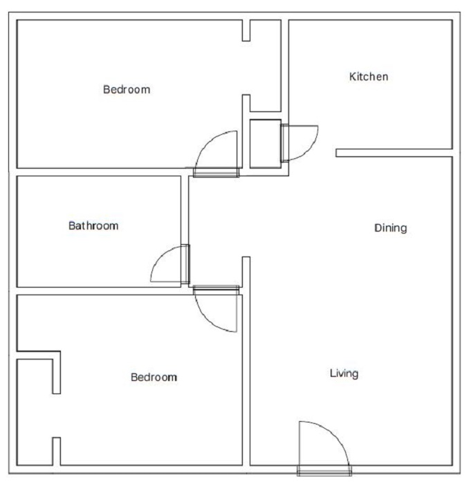 Mirabella Apartments - Floorplan - B