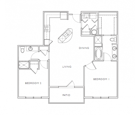 Floorplan - D1 image