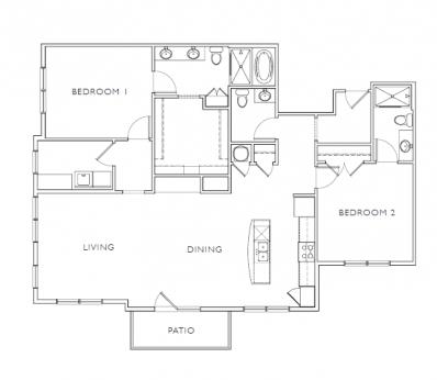 Floorplan - D6 image