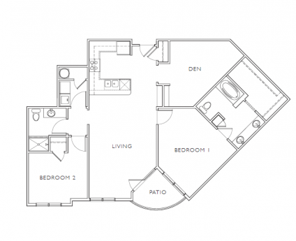 Mission 106 - Floorplan - E1