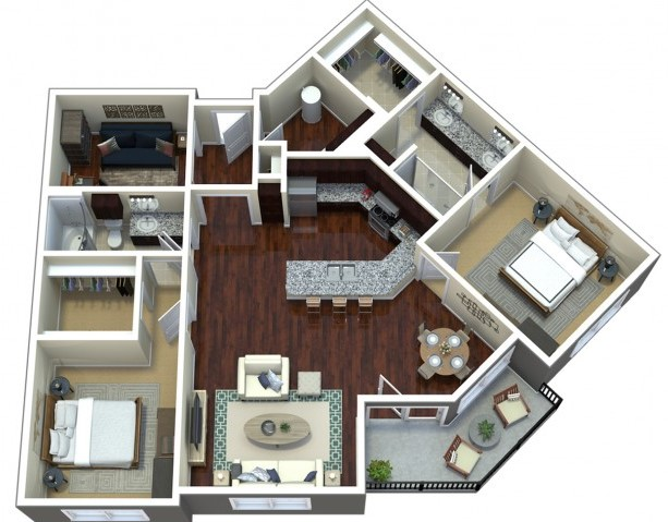Floorplan - E2 image