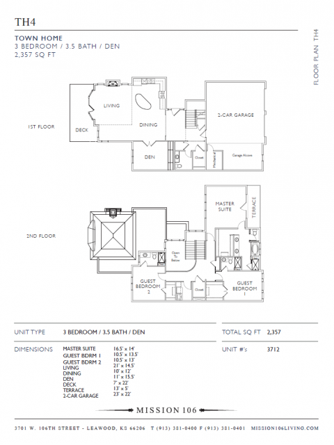 Mission 106 - Floorplan - TH4