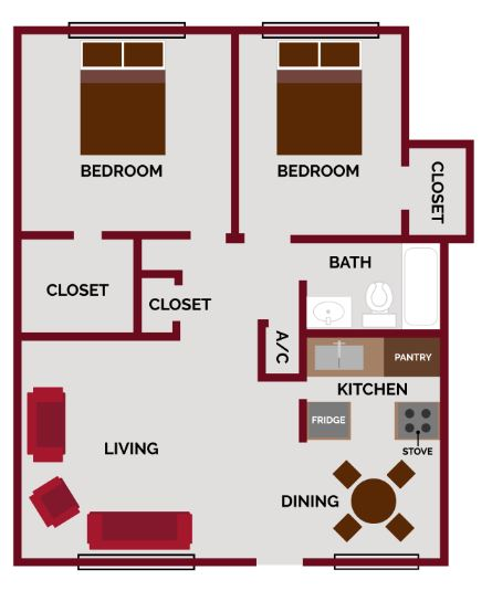 Mission Villas - Floorplan - Espada