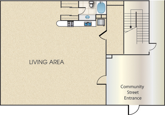 Floorplan - The Mitchell image