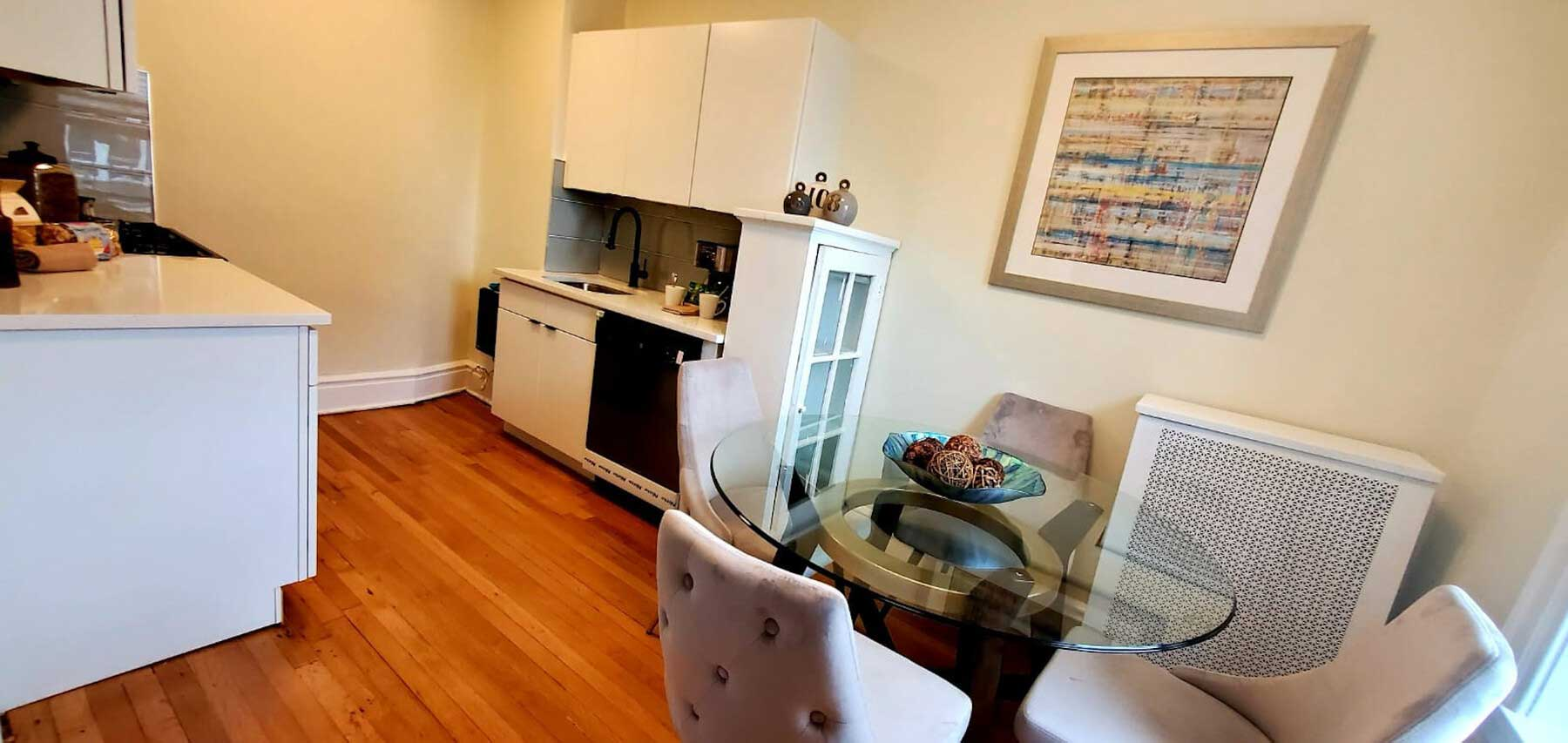 Living Room at Montclair Gardens Apartments in Montclair, New Jersey