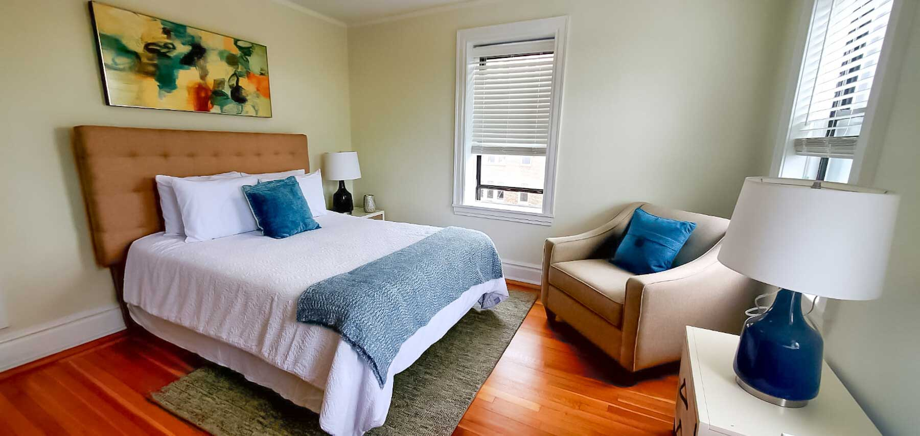 Bedroom at Montclair Gardens Apartments in Montclair, New Jersey