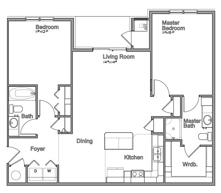 Montclair Village - Floorplan - Arcadia