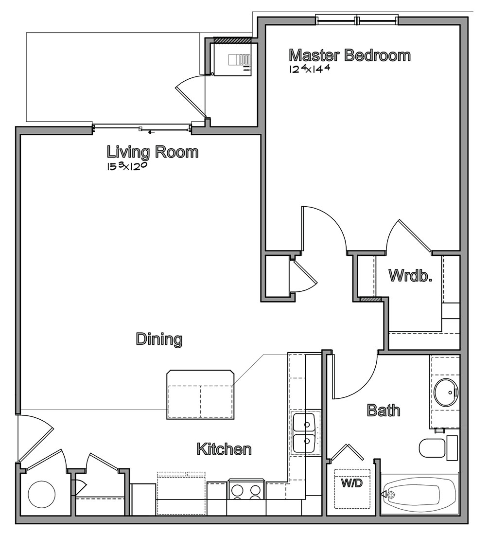Montclair Village - Floorplan - Bellwood