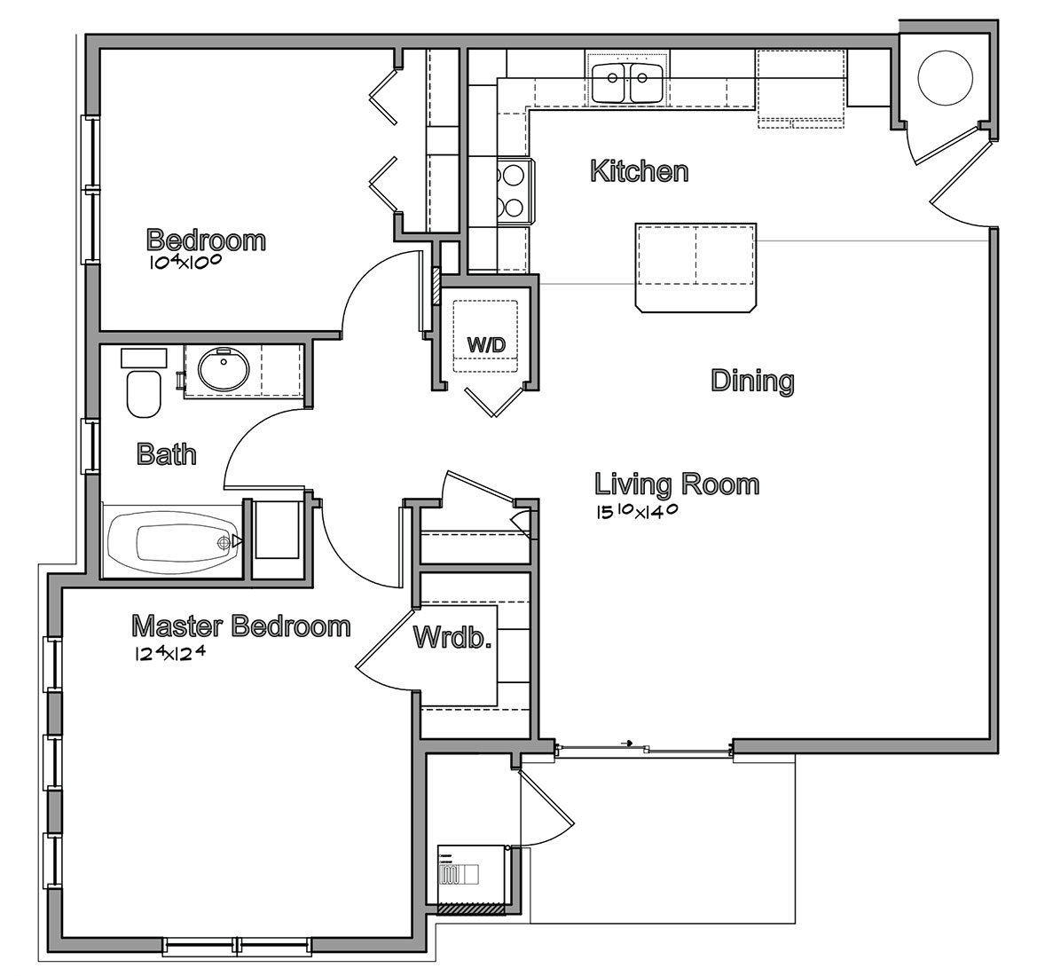 Montclair Village - Floorplan - Bristow