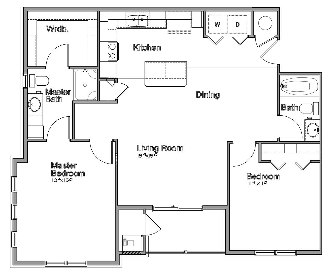 Montclair Village - Floorplan - Cordova