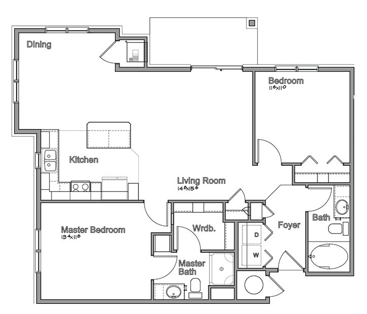 Montclair Village - Floorplan - Danbury