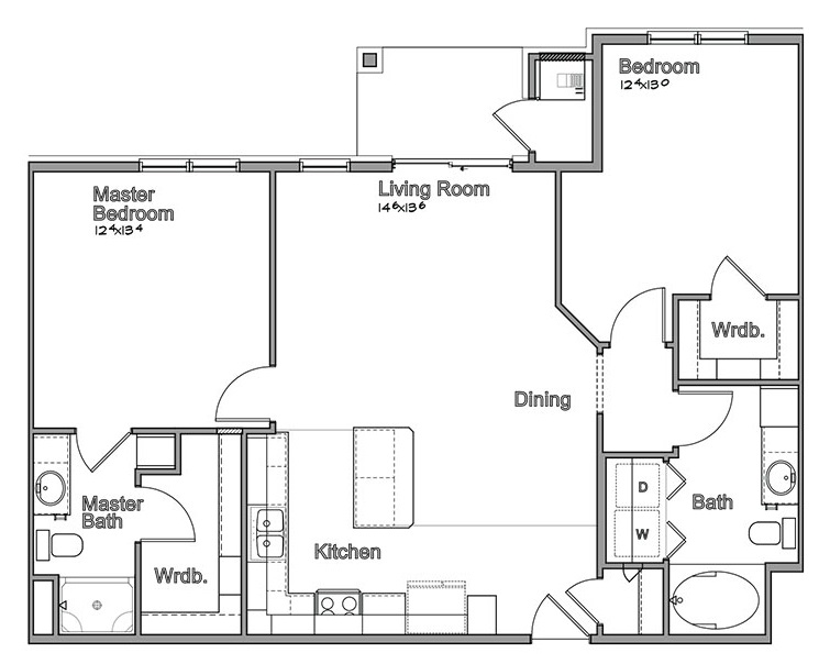 Montclair Village - Floorplan - Edison