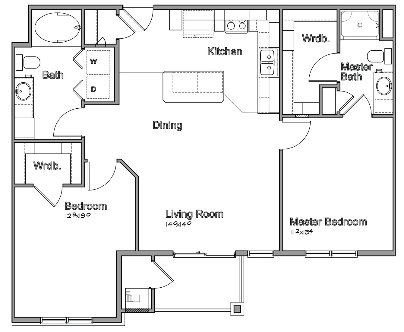 Montclair Village - Floorplan - Foster