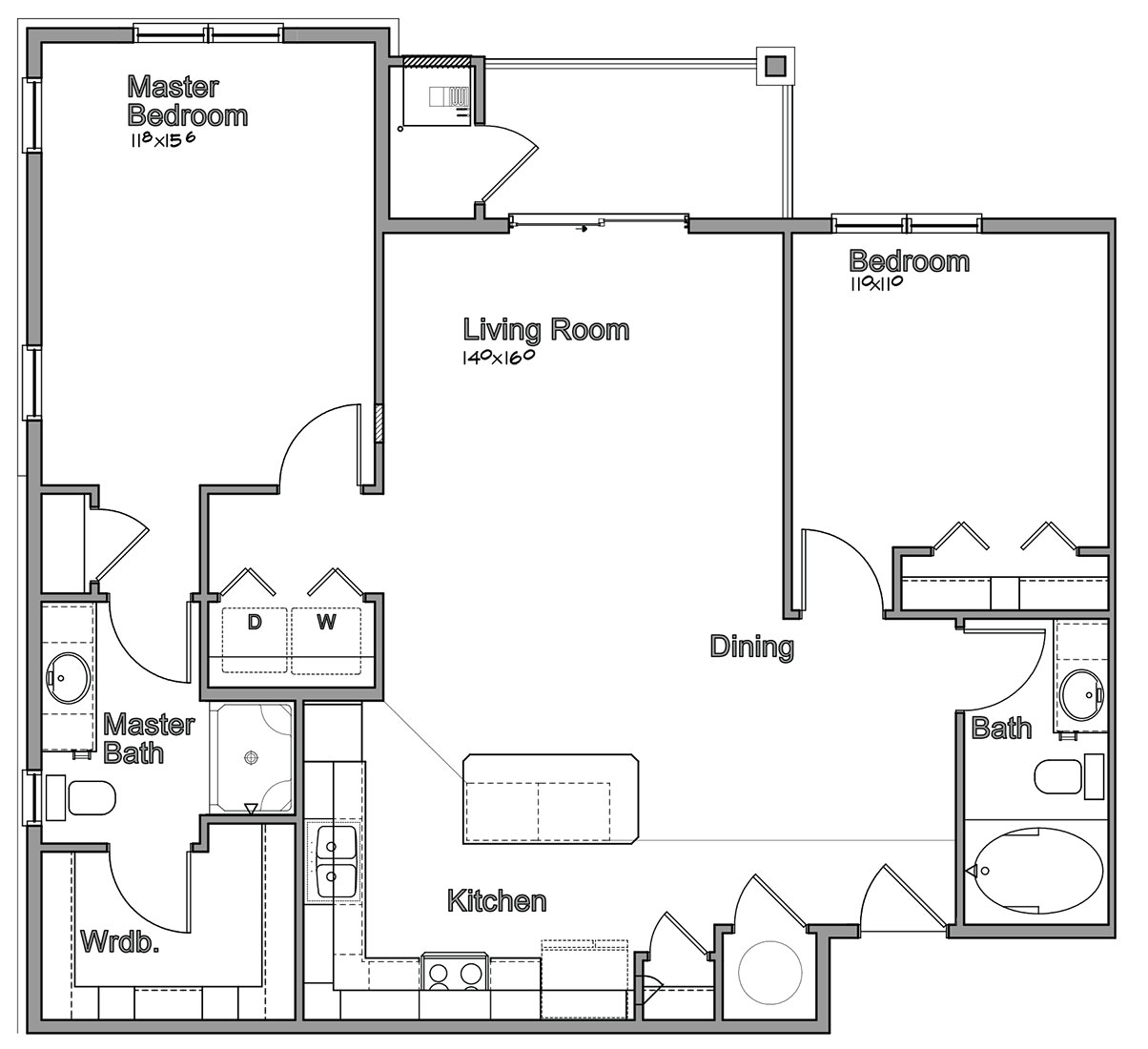 Montclair Village - Floorplan - Holbrook