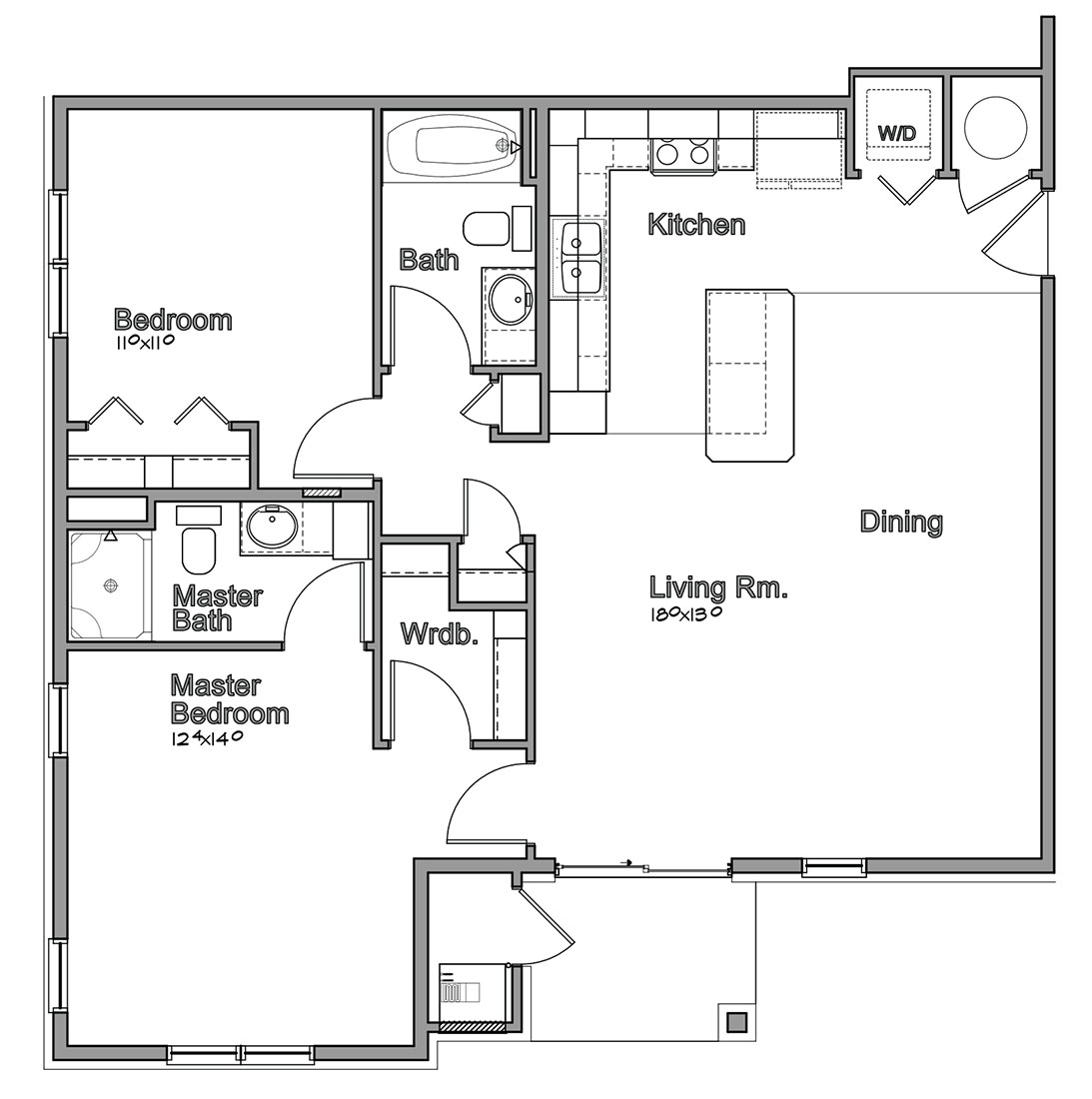 Montclair Village - Floorplan - Jensen