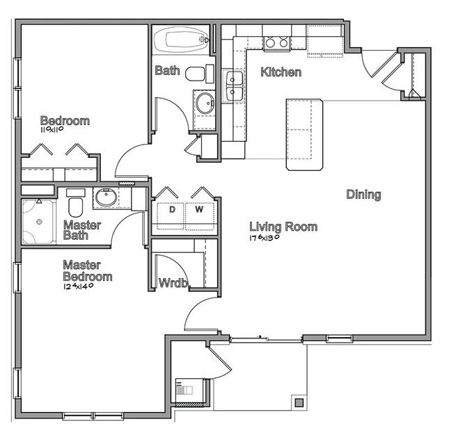 Montclair Village - Floorplan - Kenesaw