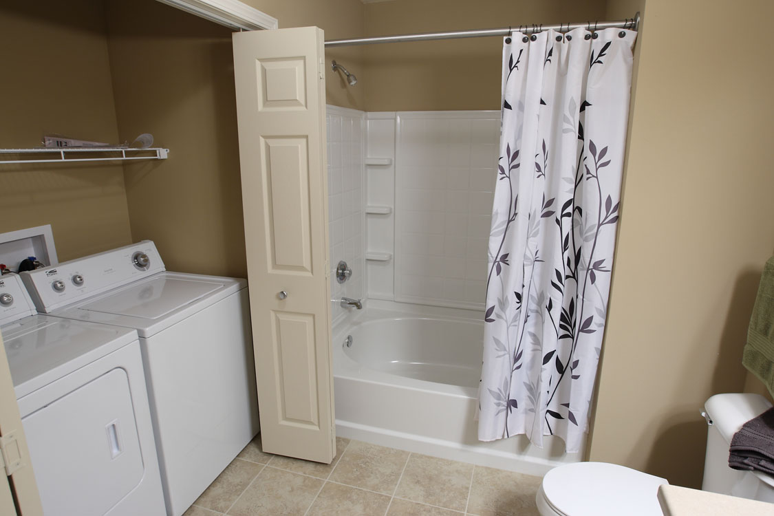 1, 2, & 3 Bedroom Apartments for Rent with In-Home Laundry at Montclair Village in West Omaha, NE.