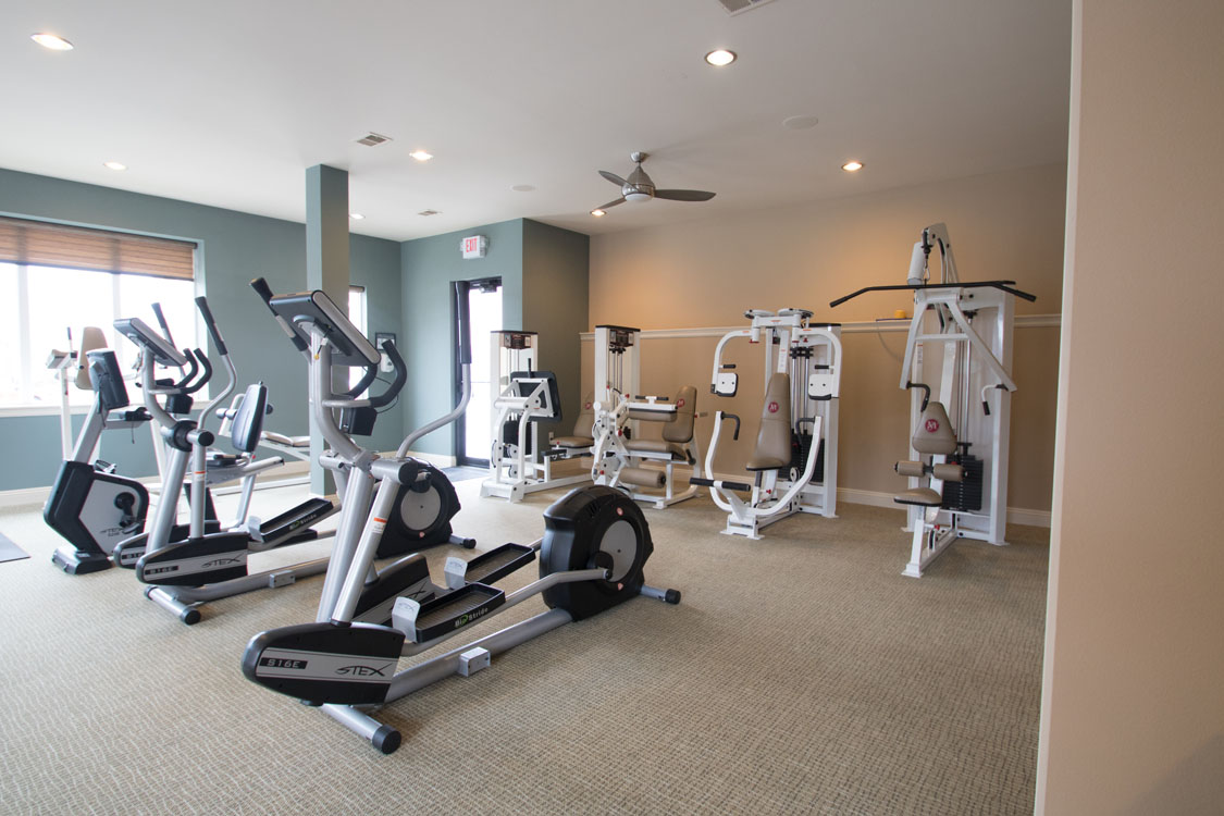 1, 2, & 3 Bedroom Apartments for Rent with Fitness Center at Montclair Village in West Omaha, NE.