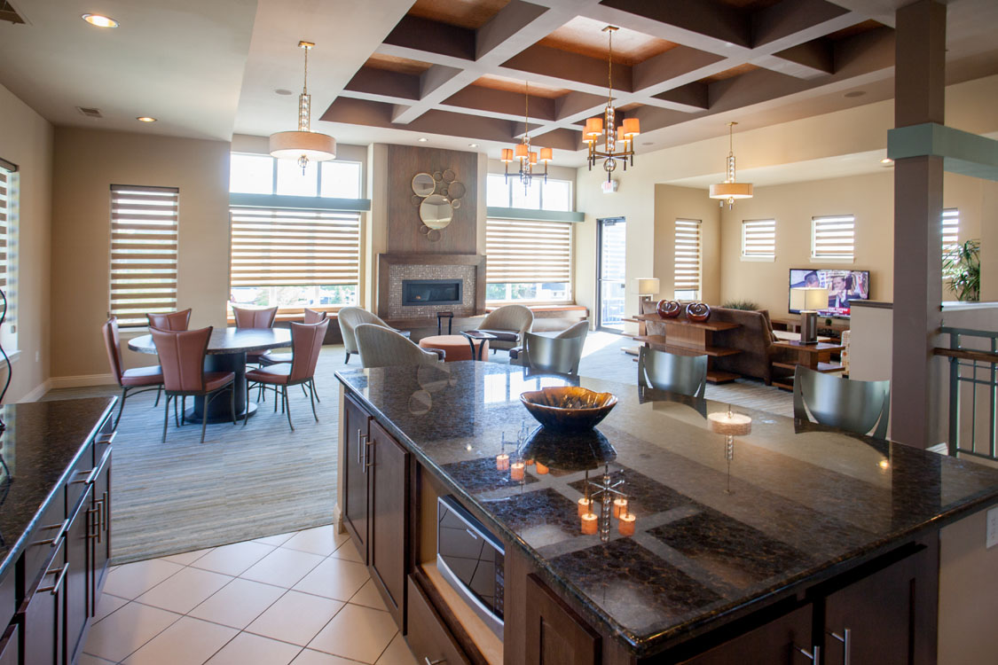 1, 2, & 3 Bedroom Apartments for Rent with Clubhouse at Montclair Village in West Omaha, NE.