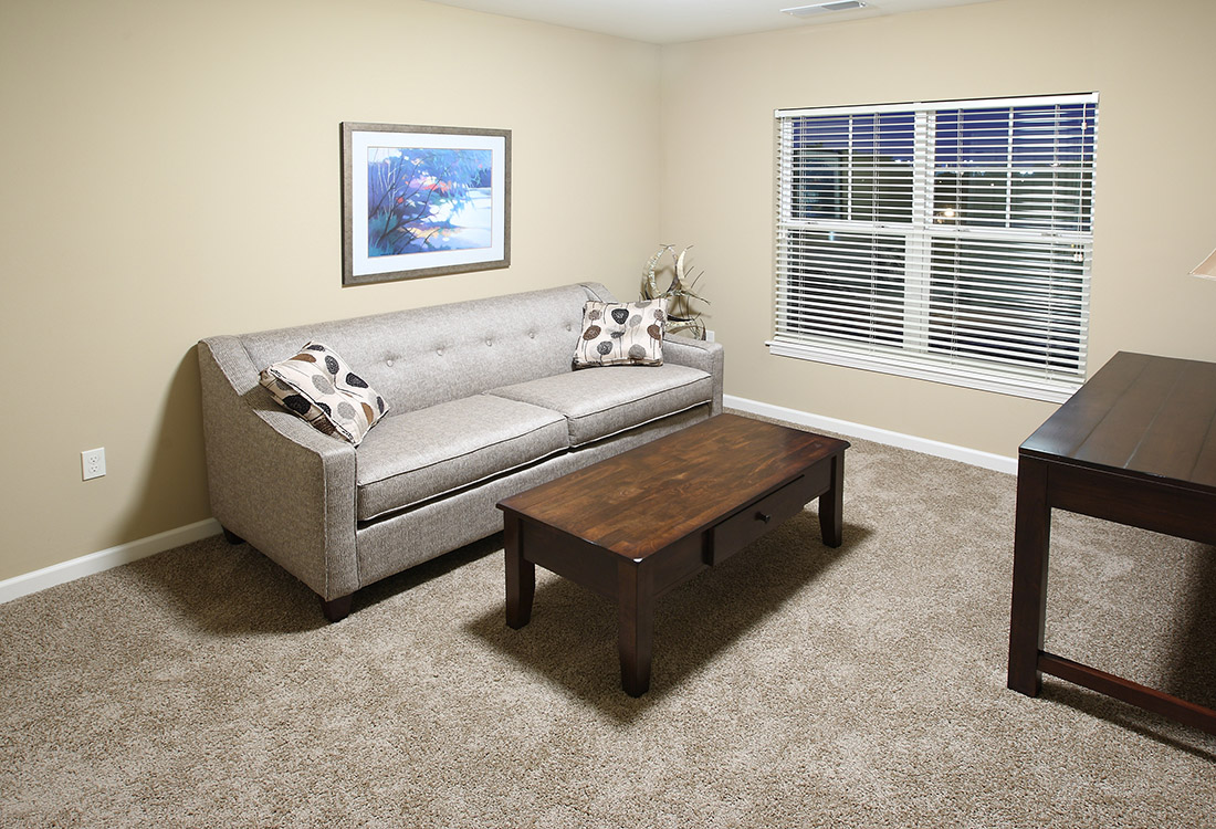 Plush Carpeting at Montclair Village Apartments in Omaha, Nebraska