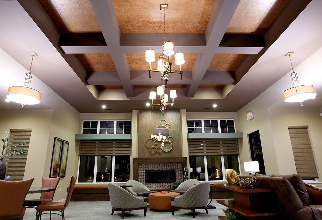 Community Clubhouse at Montclair Village Apartments in Omaha, Nebraska
