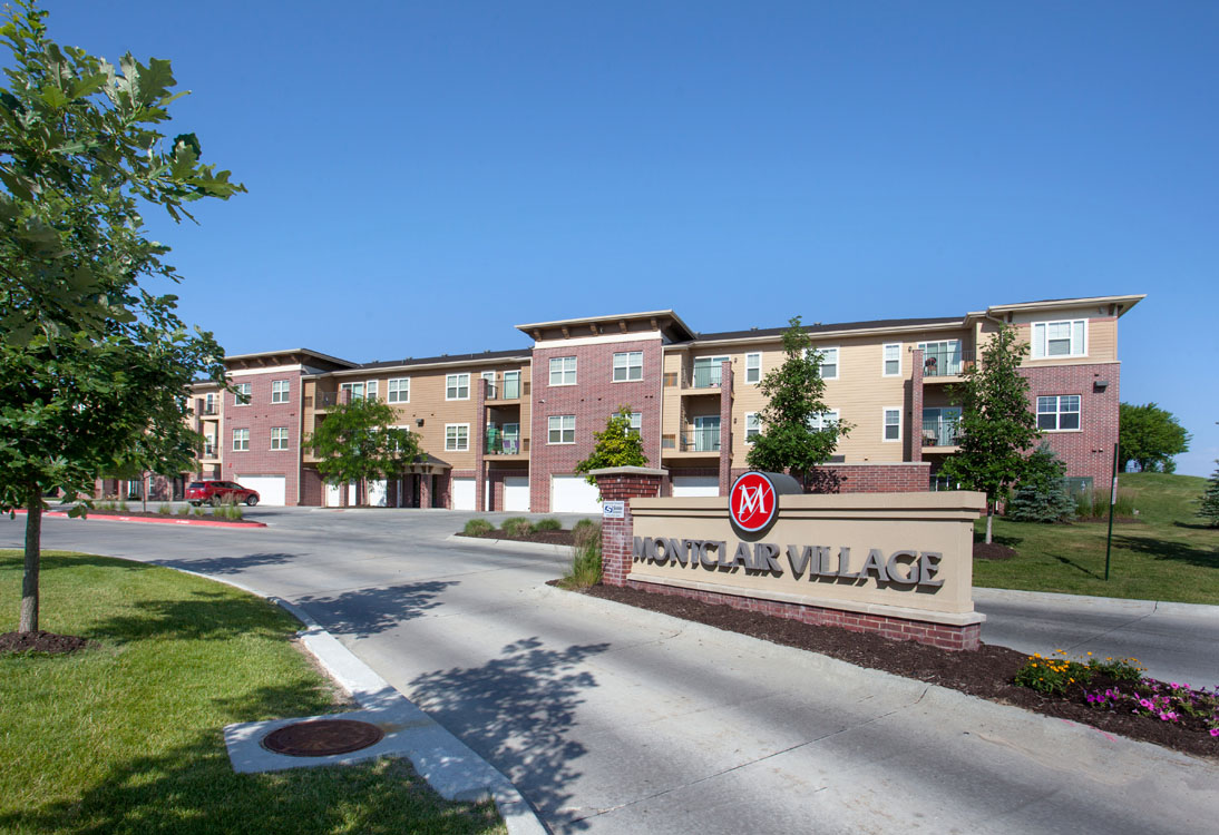 1, 2, & 3 Bedroom Apartments for Rent at Montclair Village in West Omaha, NE.