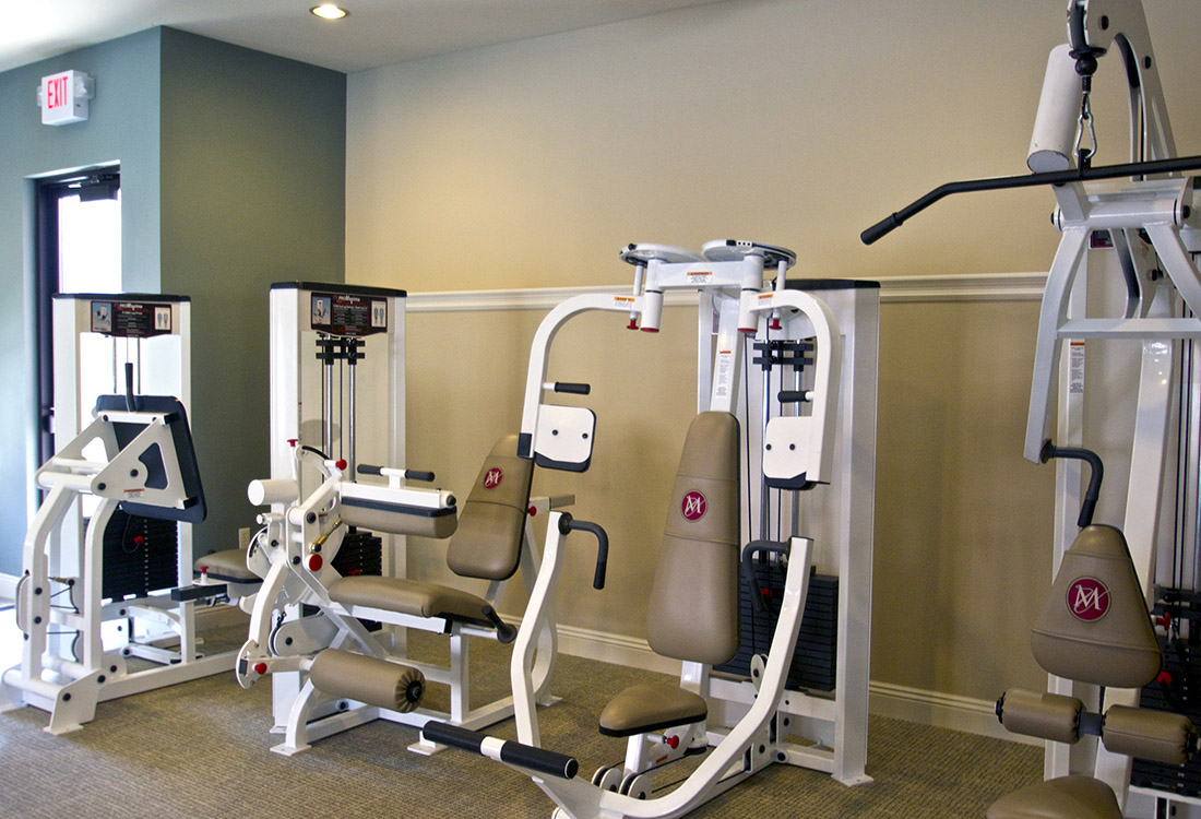 Fitness Center at Montclair Village Apartments in Omaha, Nebraska