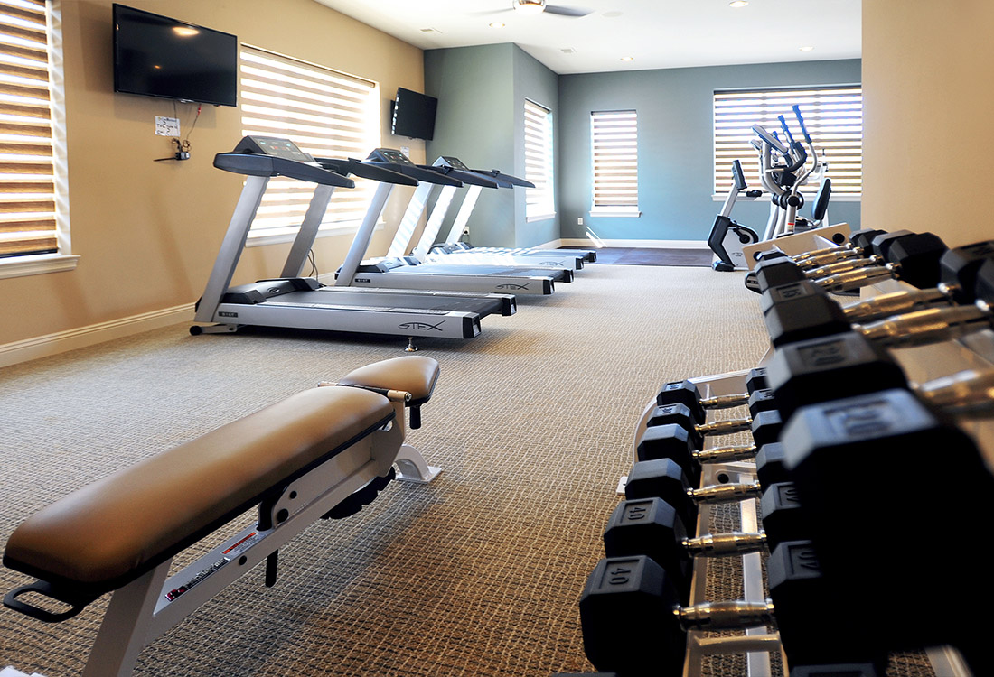 Community Fitness Center at Montclair Village Apartments in Omaha, Nebraska