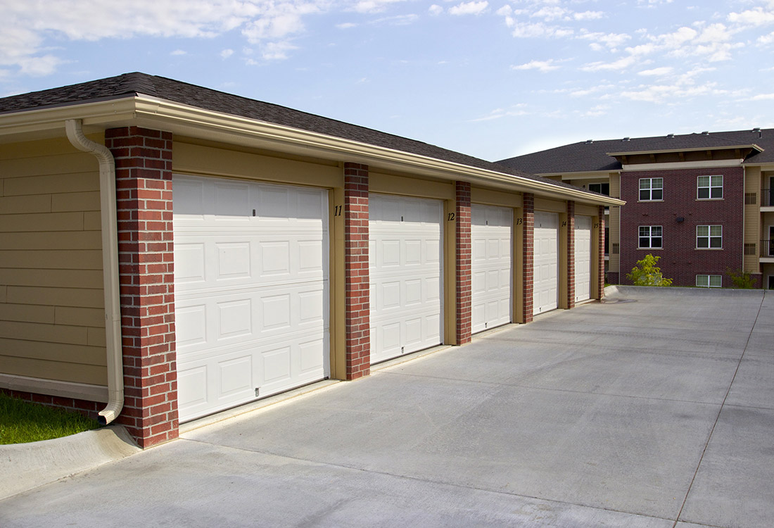 Garages Available at Montclair Village Apartments in Omaha, Nebraska