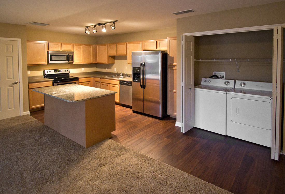 Personal Washer and Dryer at Montclair Village Apartments in Omaha, Nebraska