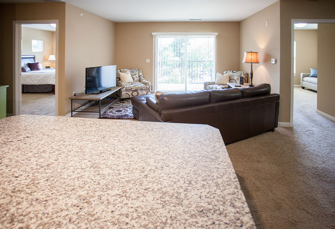 Spacious Floor Plans at Montclair Village Apartments in Omaha, Nebraska