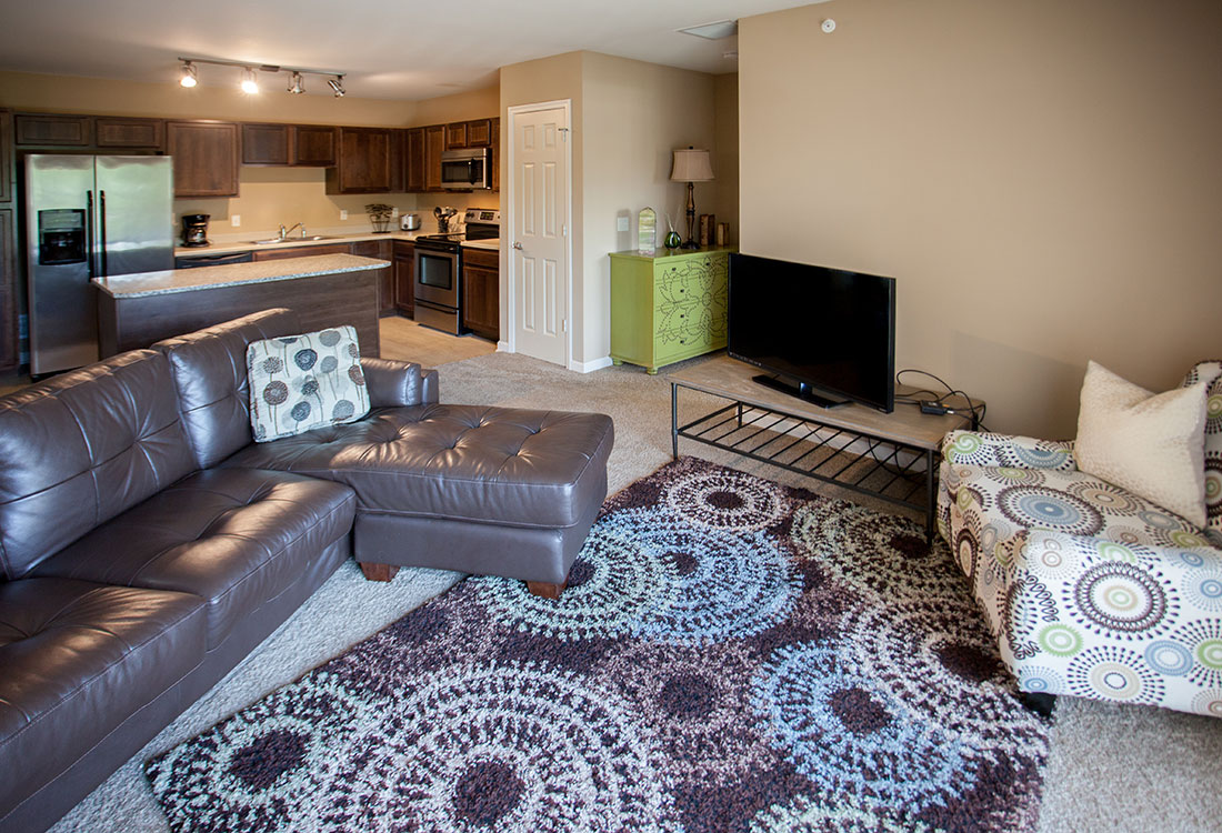 Open Floor Plans at Montclair Village Apartments in Omaha, Nebraska