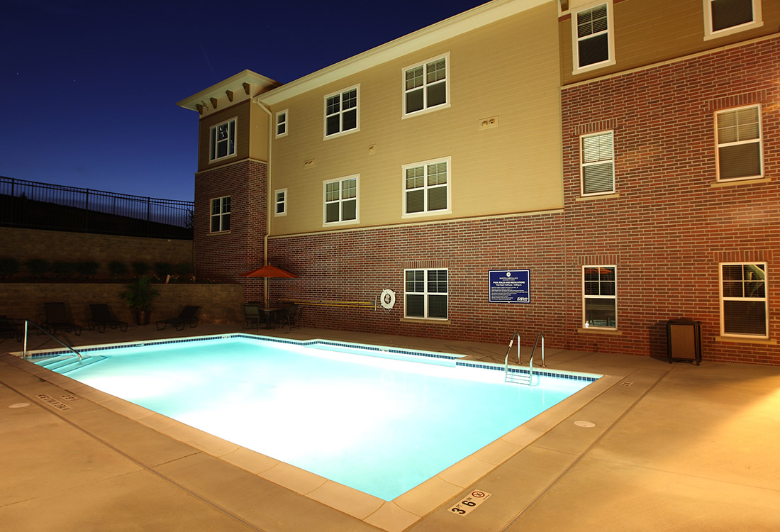 Luxury Swimming Pool at Montclair Village Apartments in Omaha, Nebraska