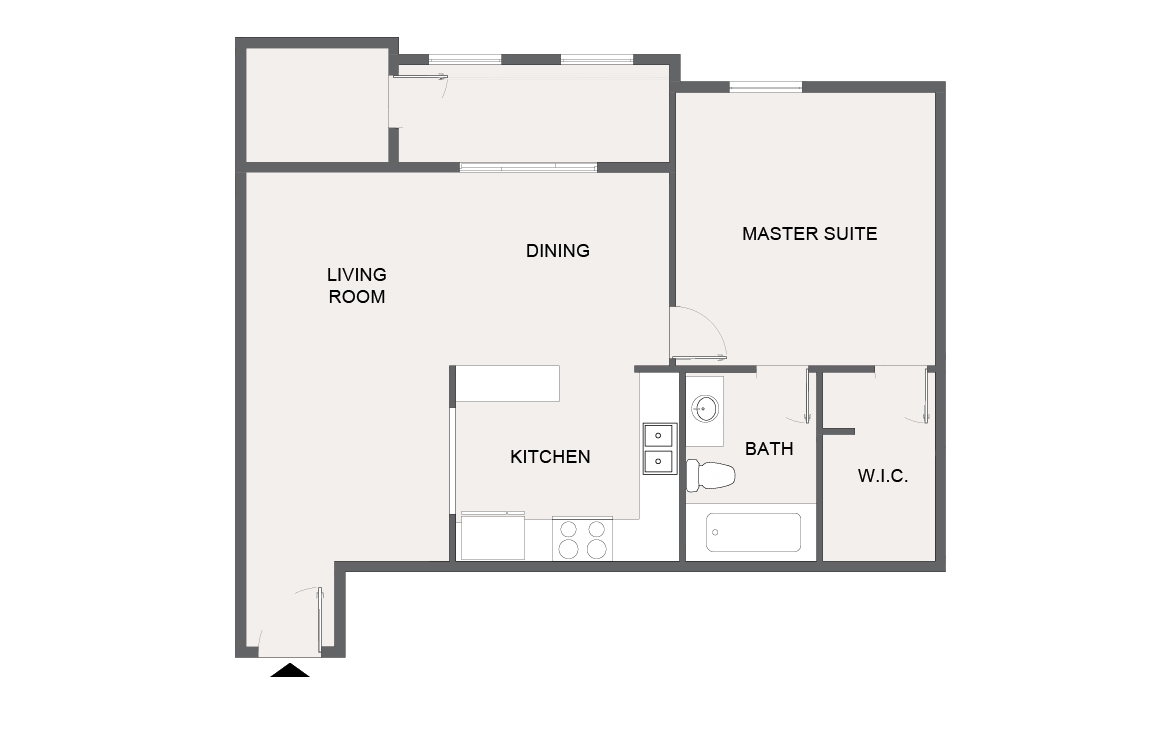 Montecito Creek Apartment Homes - Floorplan - A10