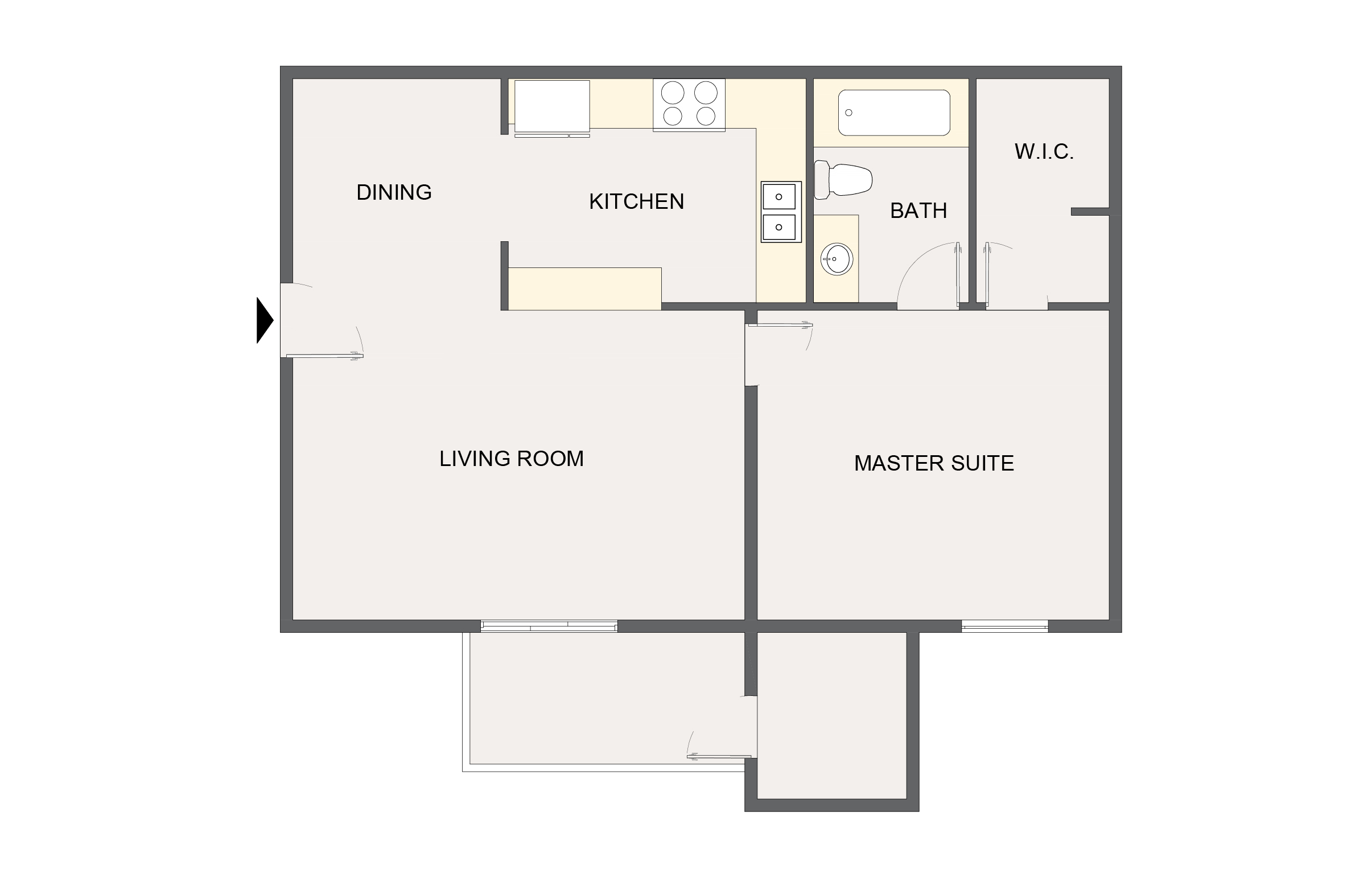 Montecito Creek Apartment Homes - Floorplan - A2