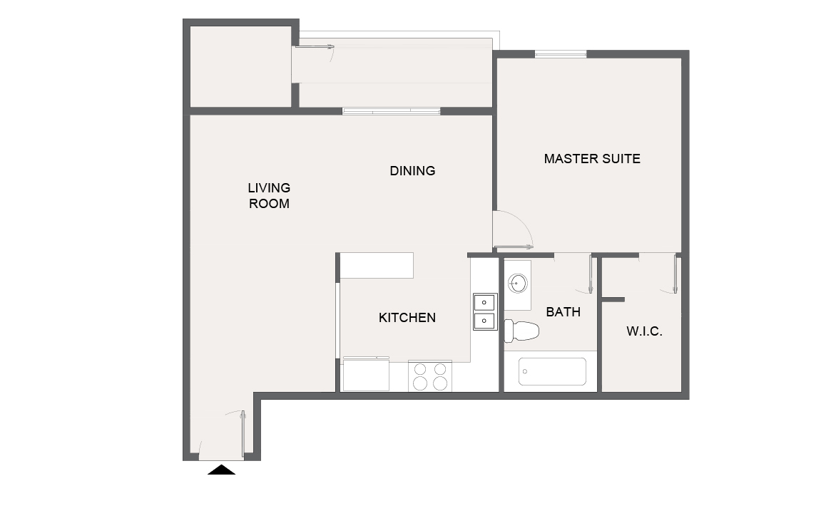 Montecito Creek Apartment Homes - Floorplan - A4