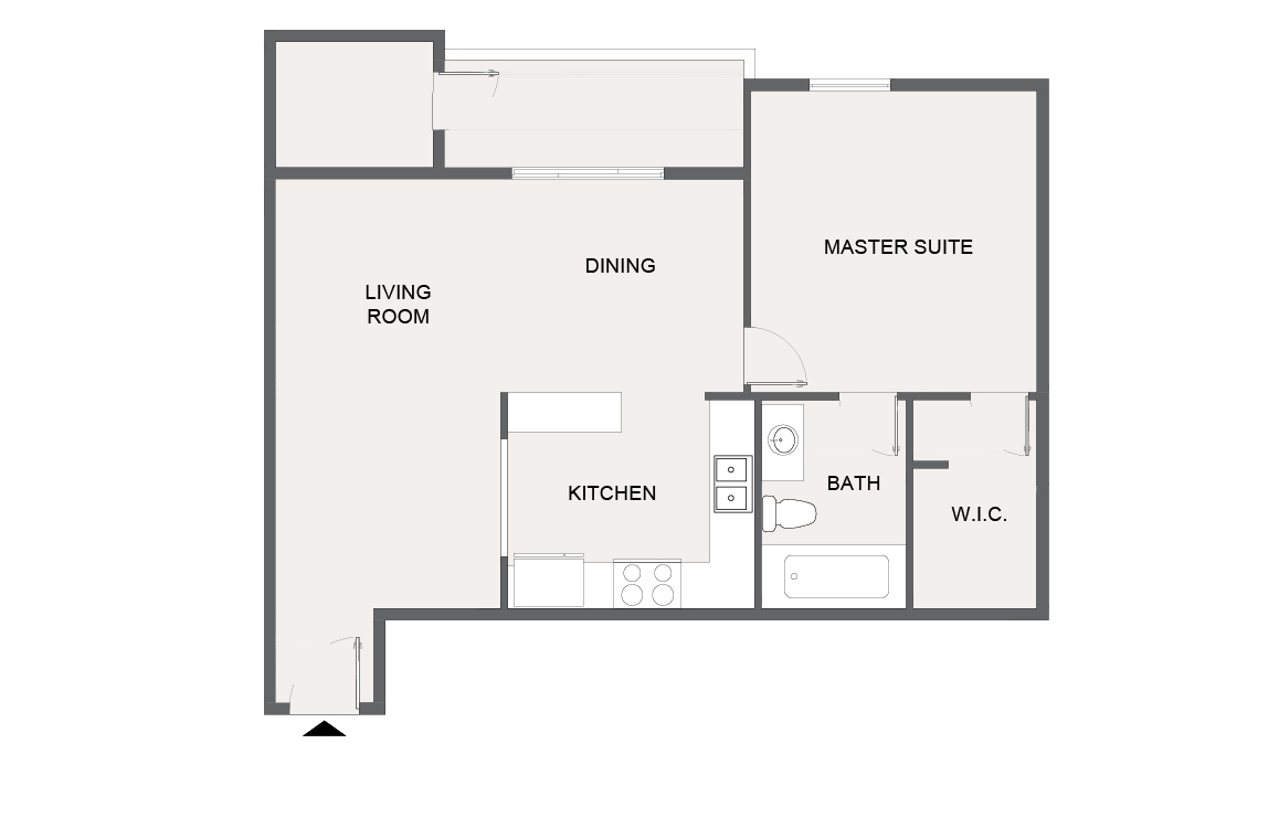 Montecito Creek Apartment Homes - Floorplan - A6