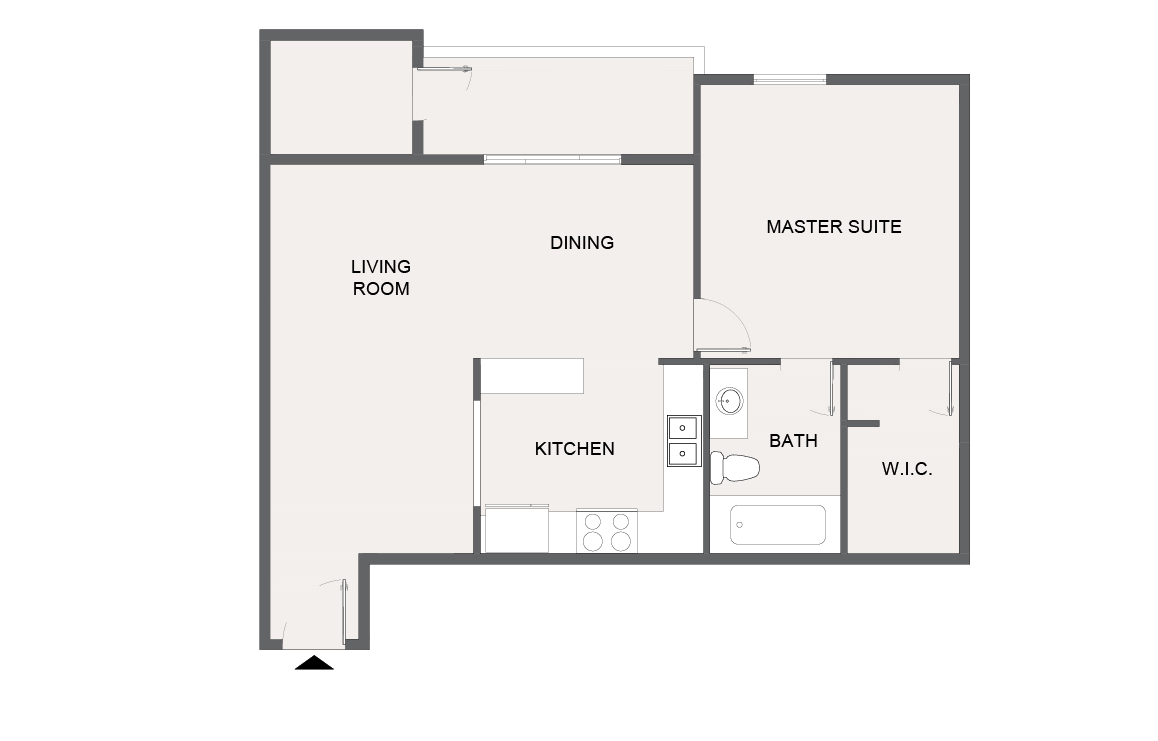 Montecito Creek Apartment Homes - Floorplan - A7