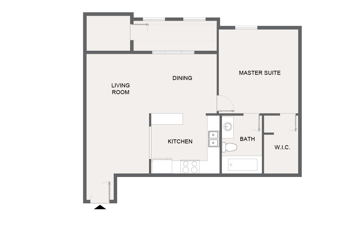 Montecito Creek Apartment Homes - Floorplan - A8